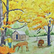 Fall Fun Art Print