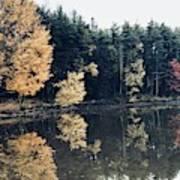 Fall Mirrors 2 Art Print
