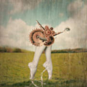 Fantasy Artistic Image That Represent Art Print