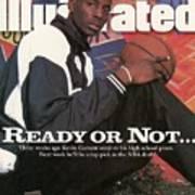 Farragut Career Academy Kevin Garnett, 1995 Nba Draft Sports Illustrated Cover Art Print