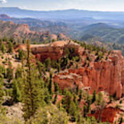 Farview Point - Bryce Canyon - Utah Art Print