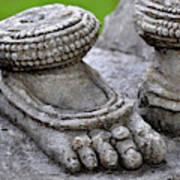 Feet Only Art Print