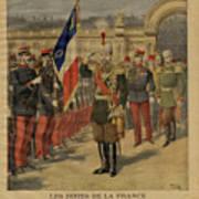 Ferdinand I Of Bulgaria At The Élysée Art Print