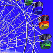 Ferris Wheel, Sydney, Australia Art Print
