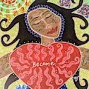 Fiam, Goddess Of Becoming Art Print