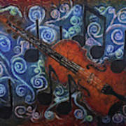 Fiddle 1 Art Print