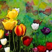 Field Of Tulips Art Print