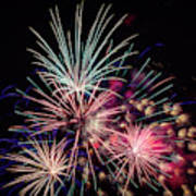 Fireworks 2019 One Art Print
