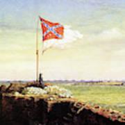 Flag Of Fort Sumter Art Print