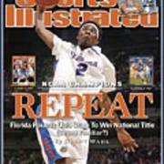 Florida Corey Brewer, 2007 Ncaa National Championship Sports Illustrated Cover Art Print