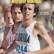 Florida Frank Shorter, 1976 Us Olympic Trials Sports Illustrated Cover Art Print