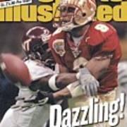 Florida State University Peter Warrick, 2000 Nokia Sugar Sports Illustrated Cover Art Print
