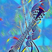 Flow Of Music Art Print