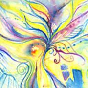 Flower Of The Soul Art Print