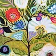 Flower Tree I    Art Print