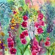 Flowery Fairy Tales Art Print
