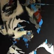 Folsom Blues _ Johnny Cash  Art Print