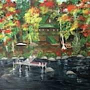 Fond Memories At Tupper Lake Art Print