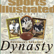 Footballs Greatest Dynasty The 1960s Packers Sports Illustrated Cover Art Print