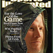 For The Love Of The Game Brett Favre Now Sports Illustrated Cover Art Print