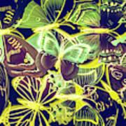 Forest Flutters Art Print