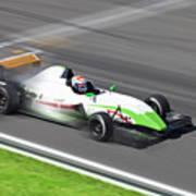 Formula 2.0  Race Car Racing On Speed Art Print