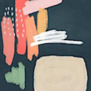 Fragments 2- Art by Linda Woods Art Print
