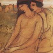 Francesca Da Rimini And Paolo Malatesta 1903 Art Print