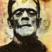 Frankenstein's Notebooks Art Print
