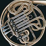 French Horn Art Print