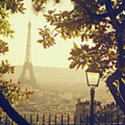 French Romance Art Print