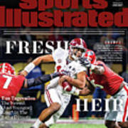 Fresh Heir Tua Tagovailoa, The Newest And Youngest King* In Sports Illustrated Cover Art Print