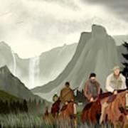 Frontier Trail Art Print