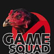 Game Squad Art Print