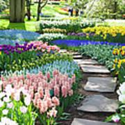 Garden Flowers  53 Xxxl Art Print