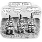 Garden Trolls Art Print