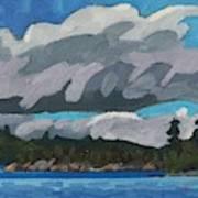 Gargantua Harbour Island Art Print