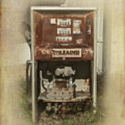 Gas Pump - Everett Corner Store Art Print