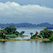 Gatun Lake Islands Art Print