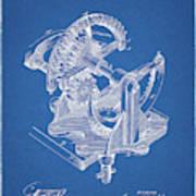 Gear Patent Design Art Print
