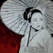 Geisha Art Print