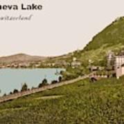 Geneva Lake Art Print