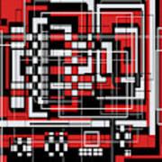 Geometric Stylization 2 Art Print