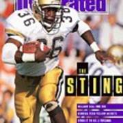 Georgia Tech William Bell... Sports Illustrated Cover Art Print