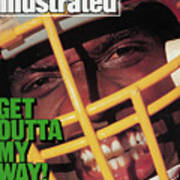 Get Outta My Way Washingtons Sack-happy Dexter Manley Sports Illustrated Cover Art Print
