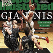 Giannis How To Coach A Unicorn Sports Illustrated Cover Art Print