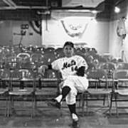 Gil Hodges Of The 1969 New York Mets Art Print
