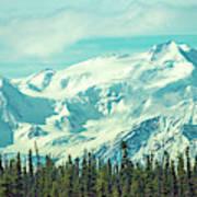 Glacier View Art Print