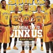 Go Ahead, Try To Jinx Us. Wichita State The Unbeaten Sports Illustrated Cover Art Print