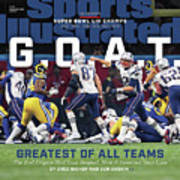 G.o.a.t Greatest Of All Teams Sports Illustrated Cover Art Print
